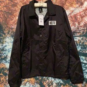 Disney x NEFF windbreaker jacket NWT